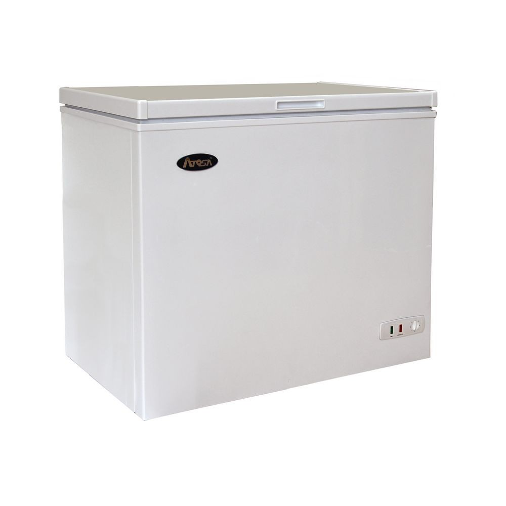 Atosa MWF9007 Chest Freezer with Solid Top 7 Cu. Ft.