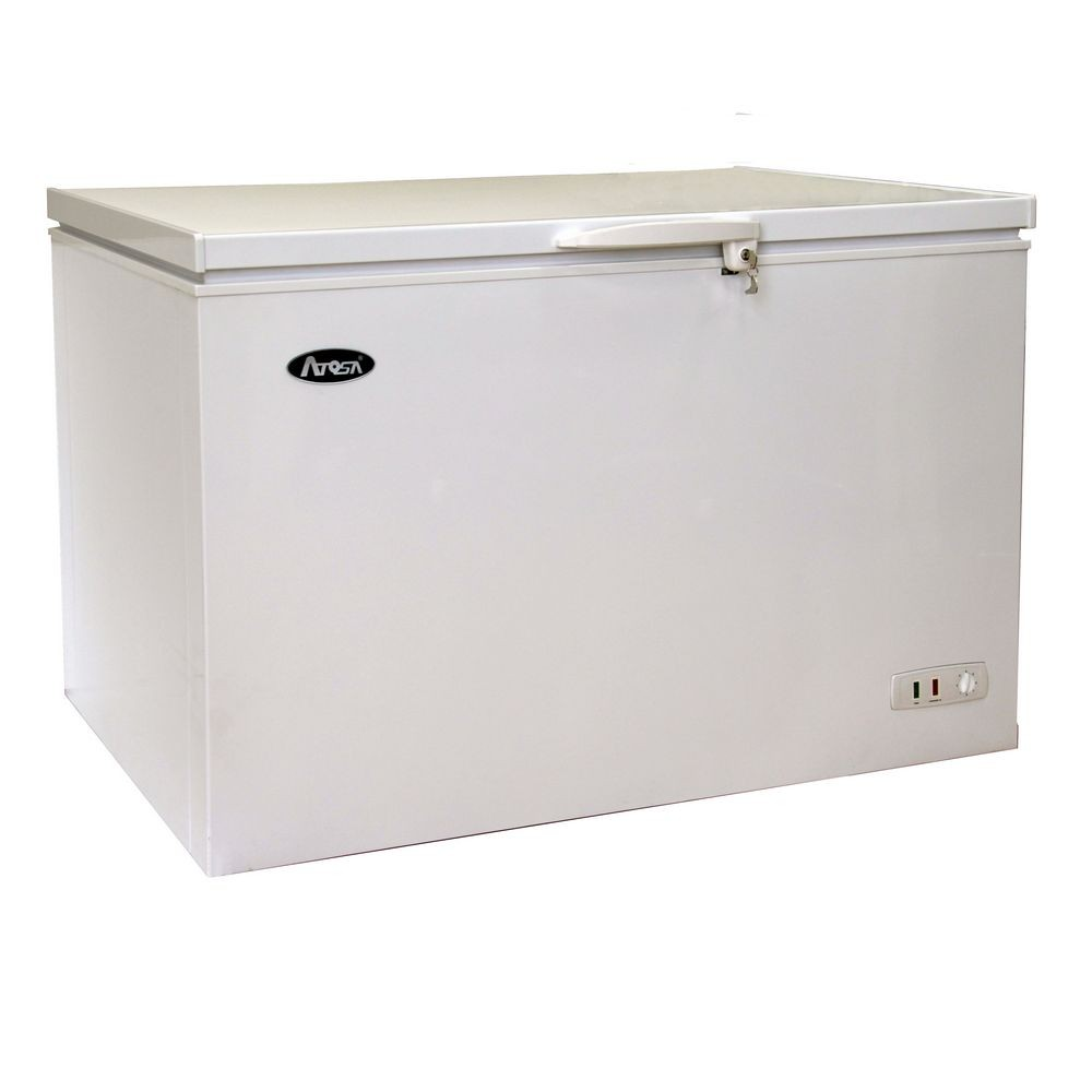 Atosa MWF9016 Chest Freezer with Solid Top 16 Cu. Ft.