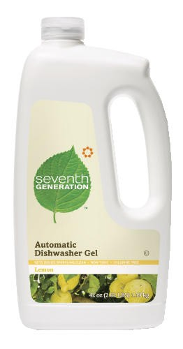Automatic Dishwasher Detergent, Gel, Lemon Scent, 45 oz. Bottle