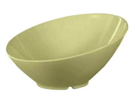 G.E.T. Enterprises B-788-AV Diamond Harvest Avocado 16 oz. Melamine Cascading Bowl