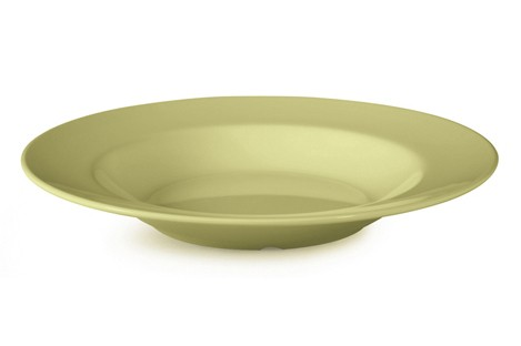 G.E.T. Enterprises B-2412-AV Diamond Harvest Avocado Melamine 24 oz. Pasta/Salad Bowl