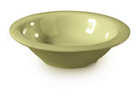 G.E.T. Enterprises B-454-AV Diamond Harvest Avocado 4.5 oz. Melamine Bowl
