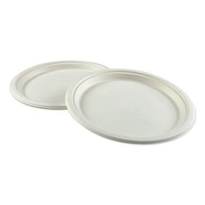 Bagasse Molded Fiber Dinnerware, Plate, 10
