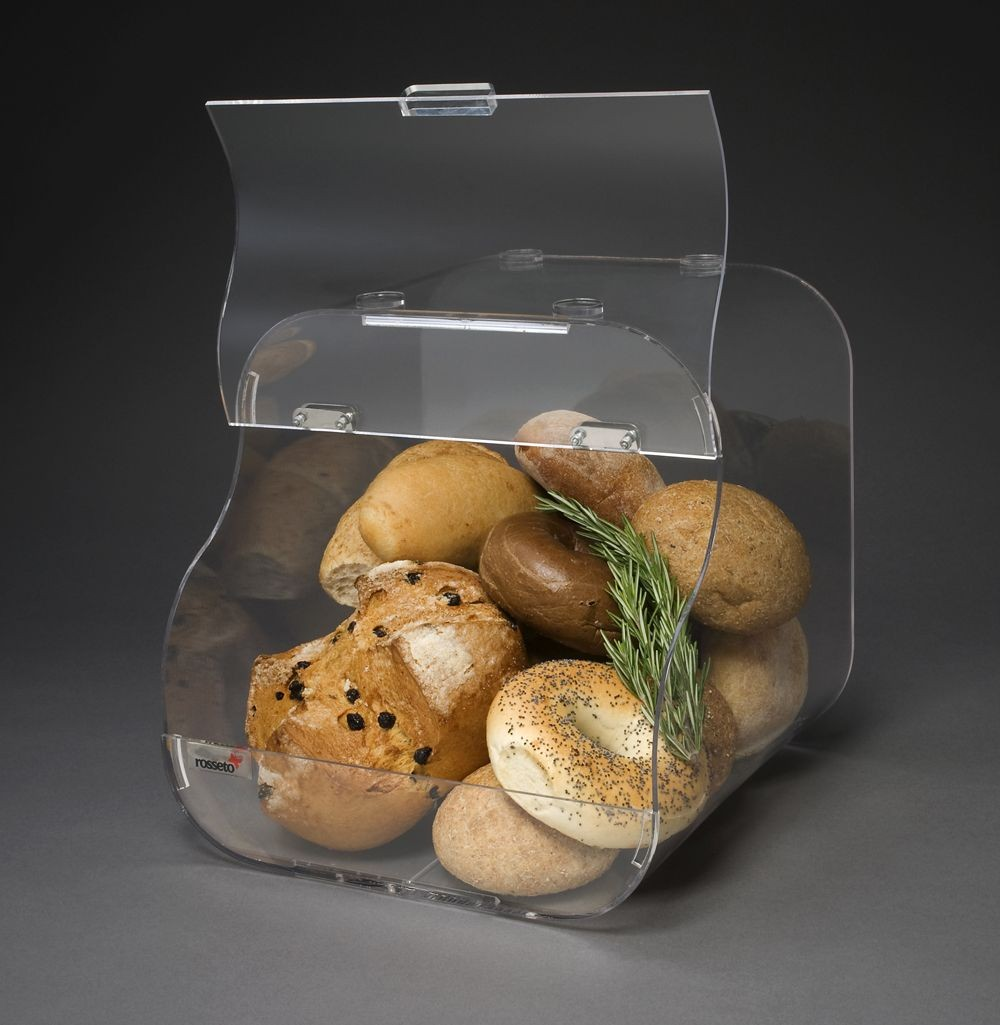 Bakery Case  Single Clear Acrylic w / Flip-Up Door- 12