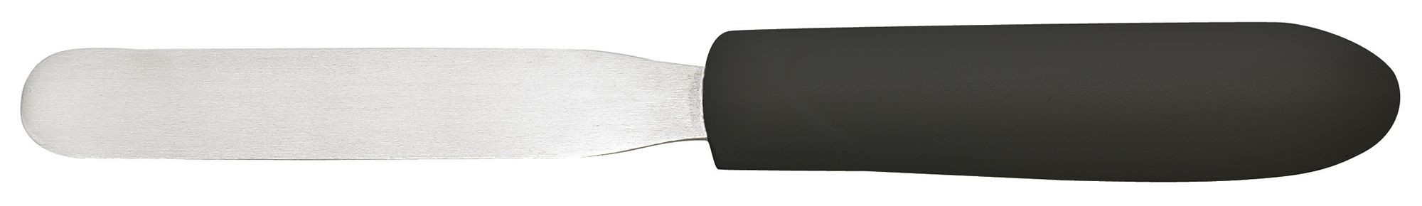 "Winco tkps-4 Bakery Spatula 4-1/4"" Blade, Black Polypropylene Handle"