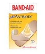 Band-Aid Antibioticbandage 20Ct