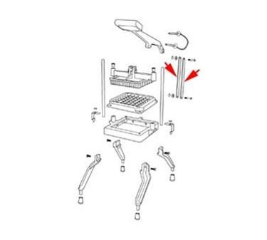 Franklin Machine Products  224-1026 Bar, Link (N55650-1, 2, 3)