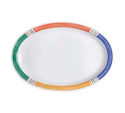 """G.E.T. Enterprises OP-610-BA Diamond Barcelona Melamine Oval Platter, 9-7/8"""" x 6-3/4"""""""
