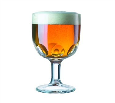 Barware Elemental 10 Oz. Glass Goblet - 6-1/4