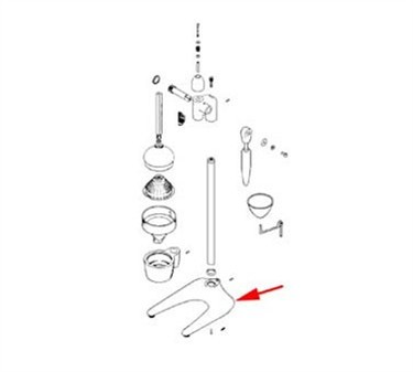Franklin Machine Products  176-1247 Base, Extractor