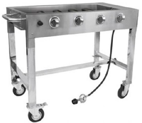 Base for Commercial Gas Grill Charbroiler & Griddle Each Sold Separately