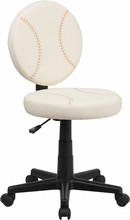 Flash Furniture BT-6179-BASE-GG Baseball Task Chair