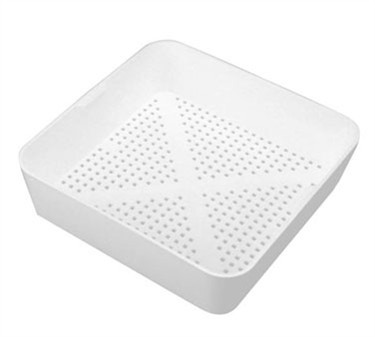 Franklin Machine Products  102-1114  Square Plastic Floor Sink Basket 8-1/2