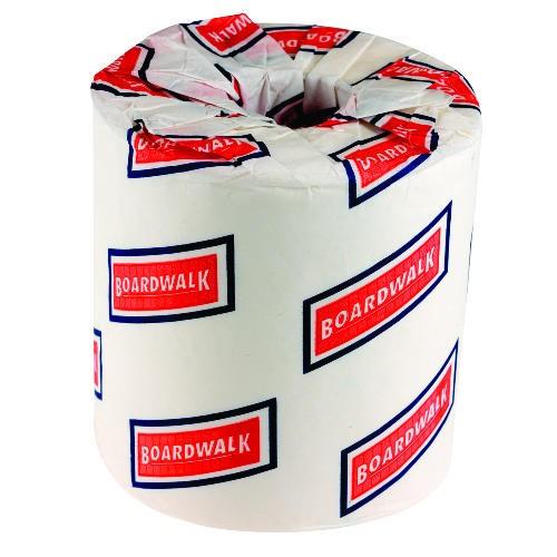 Bathroom Toliet Tissue, 500 Sheets/Roll, White