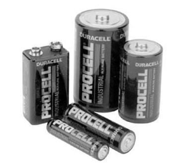 Battery (Size D, Alkaline)