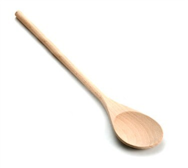 TableCraft W18 Beechwood Wooden Spoon 18""