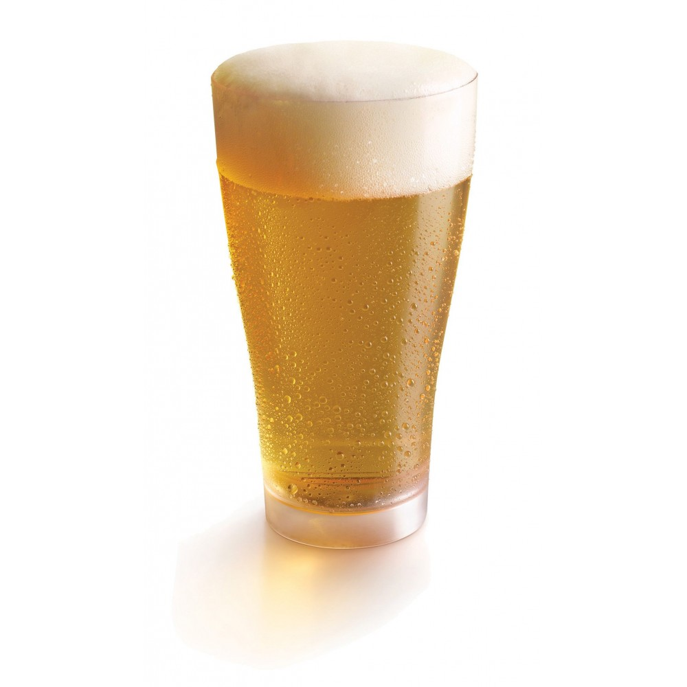 Rosseto L50500 Liteware Clear Plastic Beer Glass 18 oz. (Case Of 240)