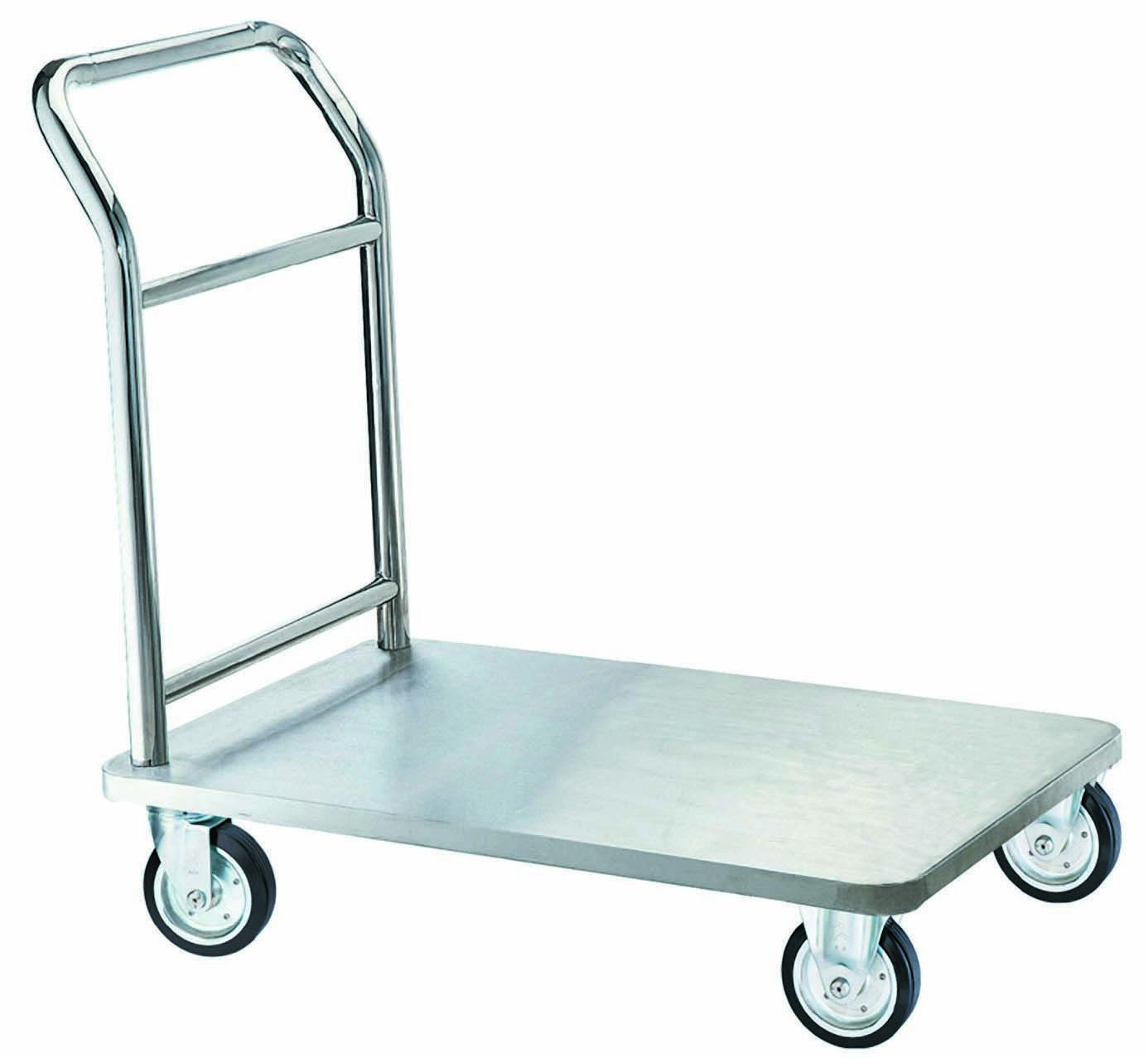 Aarco Products SB-1C Bellman's Hand Truck, Chrome Finish