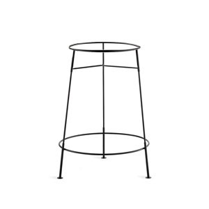 TableCraft BTS2137 Black Metal Beverage Tub Stand for BT21