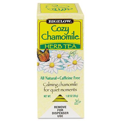 Bigelow Single Flavor Tea, C oz.y Chamomile, 28 Bags/Box