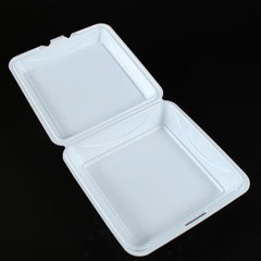 Biodegradable Hinged Foam Containers 9