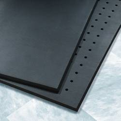 Black Cloud Ultimate Anti-Fatigue Mat, Drainage Holes, 3' x 5'