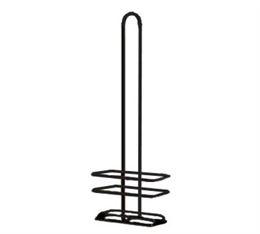 TableCraft 916RBK Black Coated Oil & Vinegar Cruet Rack for 916