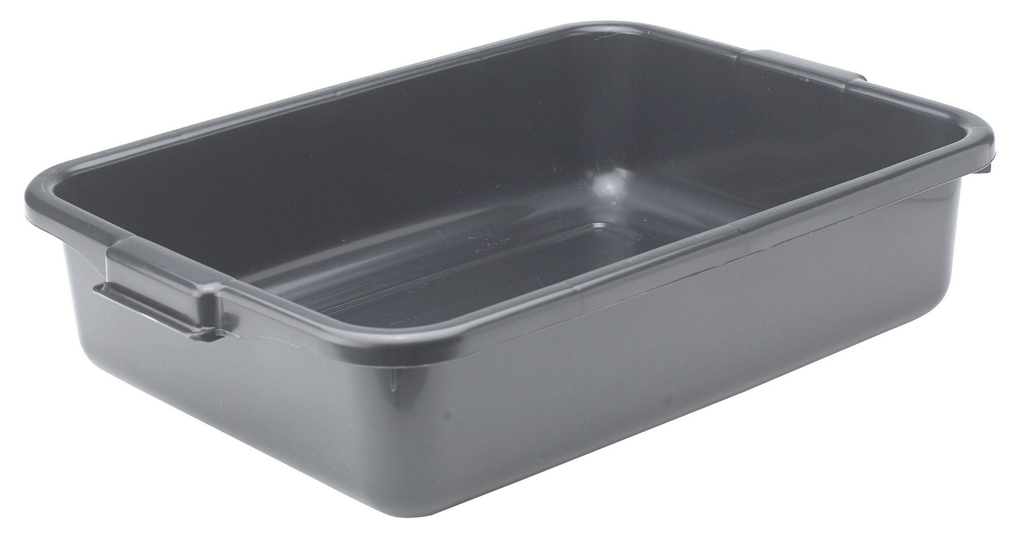Black Dish Box - 20-1/4 x 15-1/2 x 5