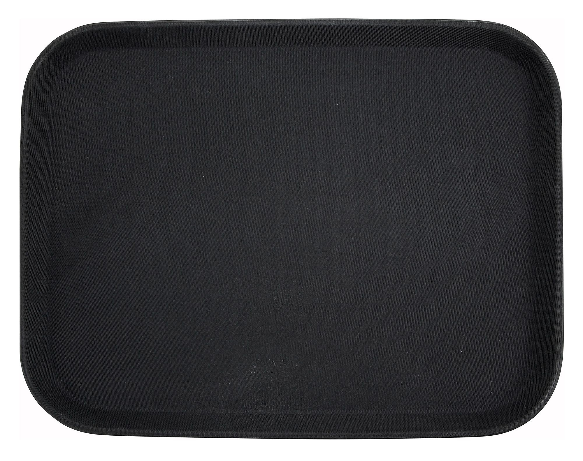 Black Easy Hold Rectangular Tray - 14 X 18