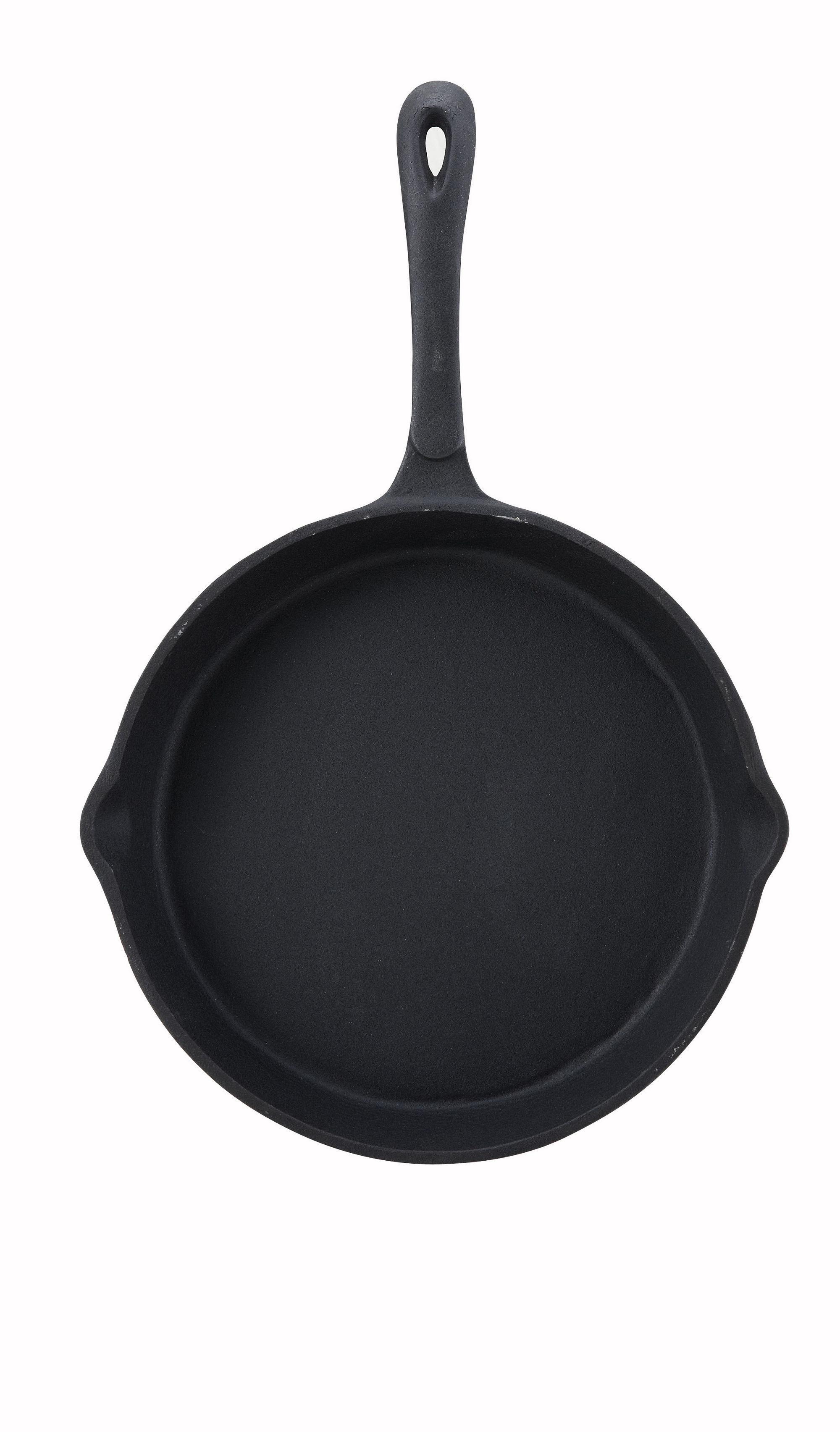 Winco RSK-10 Black-Enameled Cast Iron Skillet 10""