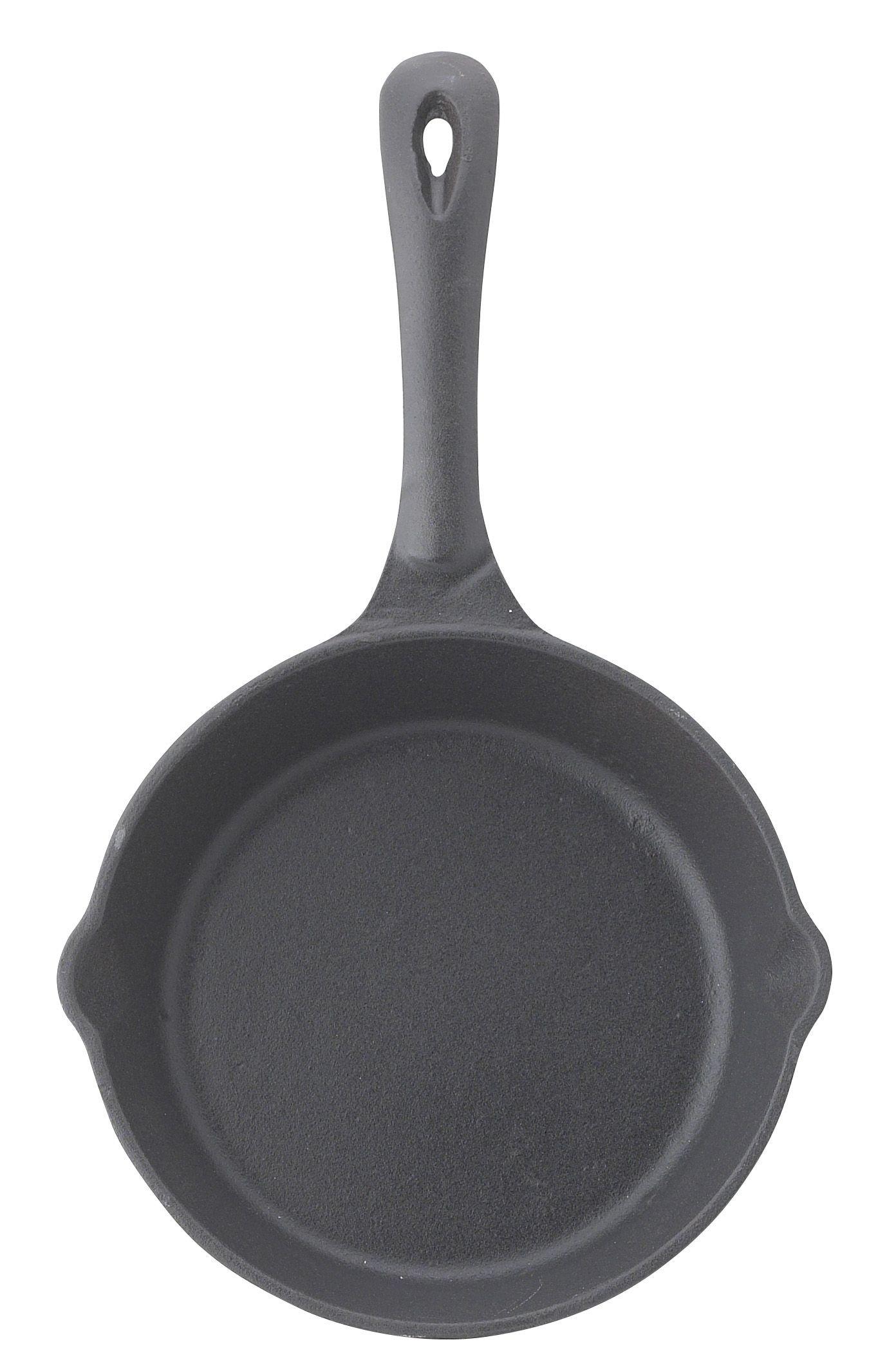 """Winco RSK-6 Black-Enameled Cast Iron Skillet 6-1/2"""""""