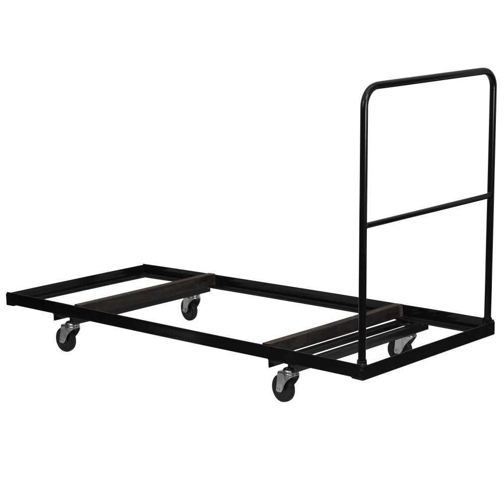 Black Folding Table Dolly for Rectangular Folding Tables