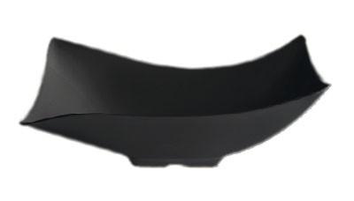 """G.E.T. Enterprises ML-219-BK Brasilia Black 1.9 Qt. Flare Bowl 8.13"""" x 11.5"""""""