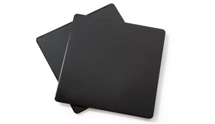 G.E.T. Enterprises ML-227-BK Black Melamine Solid False Bottom for ML-149