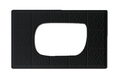 G.E.T. Enterprises ML-221-BK Black Melamine Tile for ML-219 and ML-220