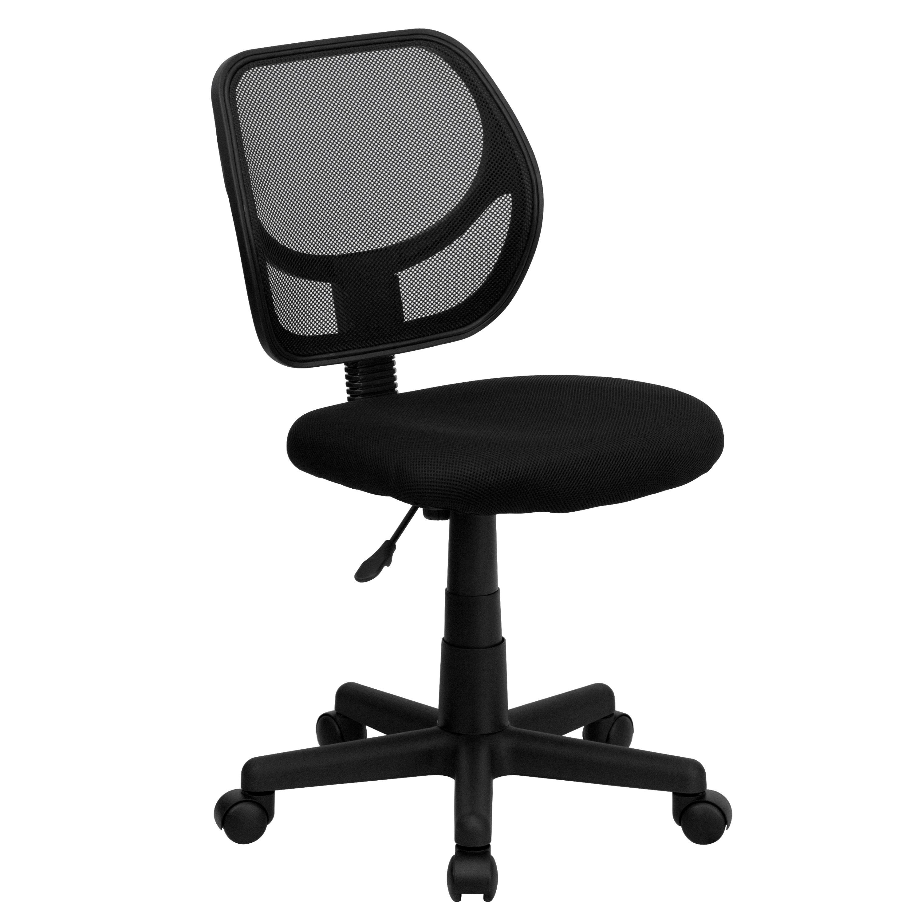 Flash Furniture WA-3074-BK-GG Black Mesh Computer Chair