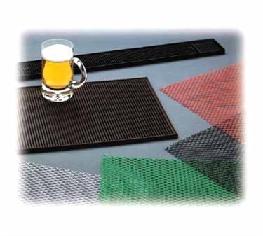 Black Plastic Bar Mesh Mat - 2' X 40'
