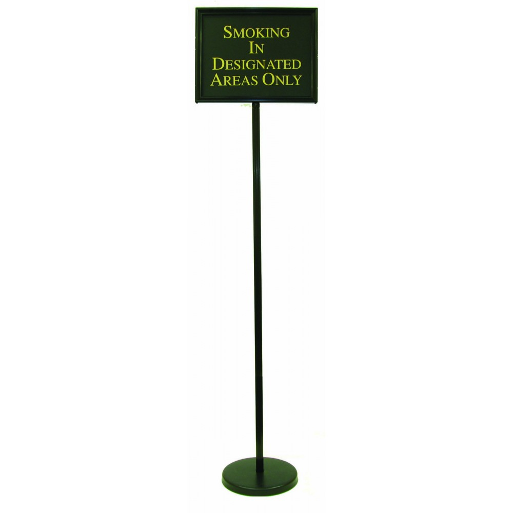 Aarco Products TI-1BK Director Aluminum Changeable Sign with Black Frame, 59""