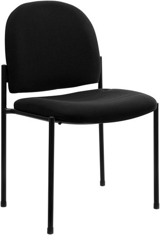 Flash Furniture bt-515-1-BK-gg Black Steel Stacking Chair
