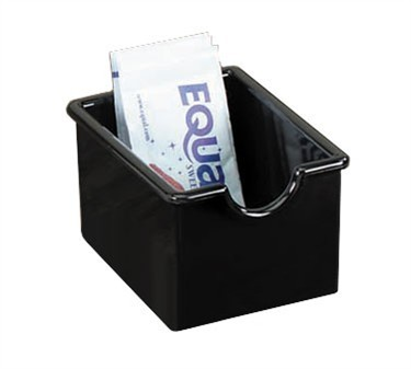 Black Styrene Plastic Sugar Packet Holder