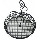 Black Wire Tabletop Condiment Rack with 3 Ramekins 12