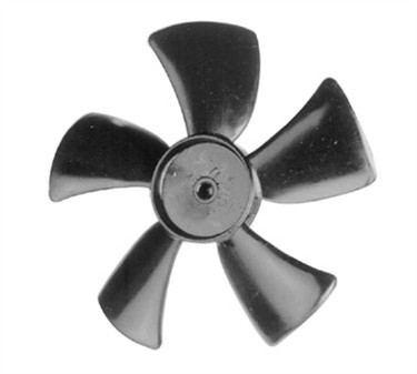 Blade, Fan (5, 1/4Hole, Cw, Plst)