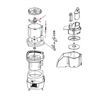 Franklin Machine Products  206-1025 Blade