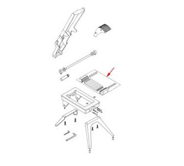 Franklin Machine Products  215-1178 Blade Assembly (1/2