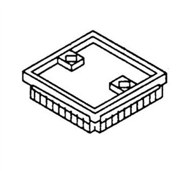 Franklin Machine Products  215-1250 Block, Pusher (3/8 Dice, Ns)