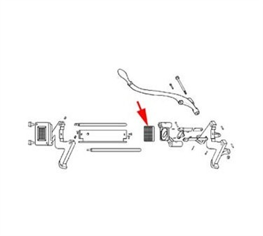 Franklin Machine Products  188-1012 Block, Pusher (7/16)