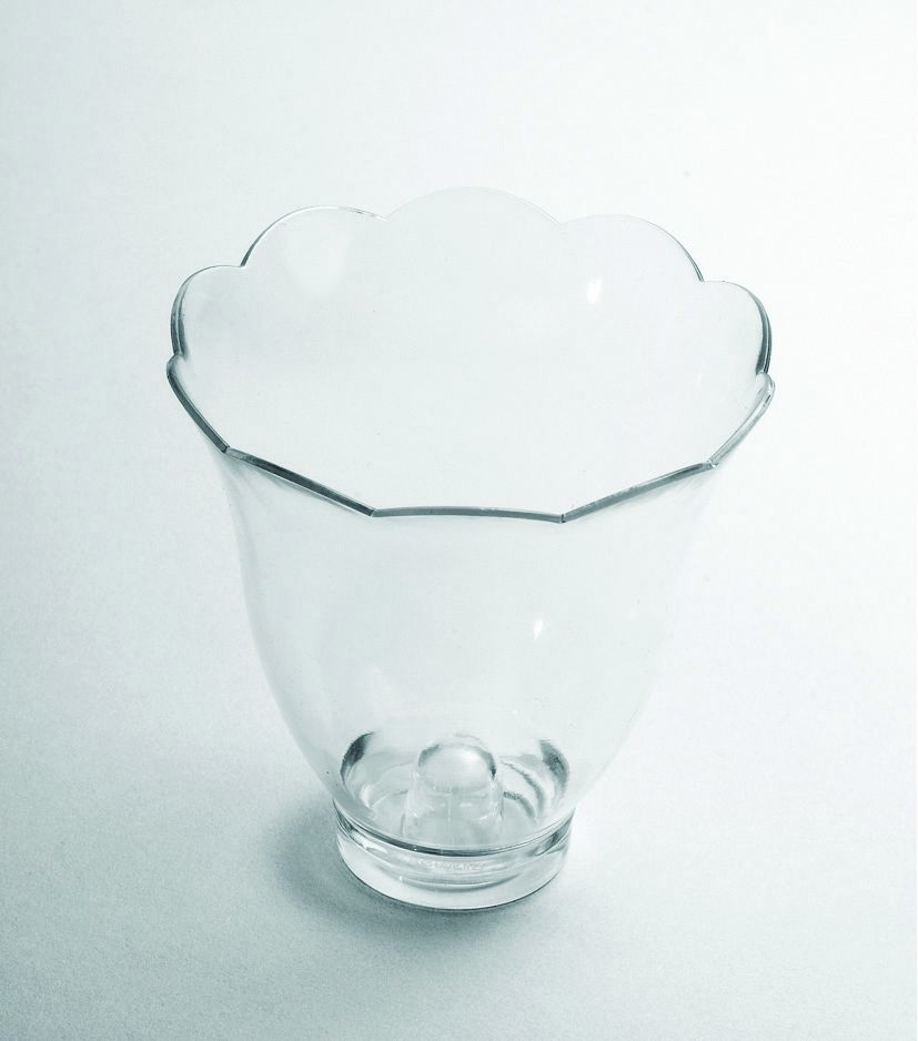 Rosseto BC1804 Liteware Clear Plastic Blossom Mini Bowl/Cup 3 oz., (Case Of 300)