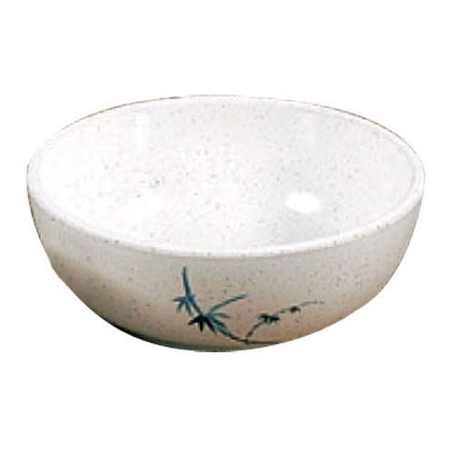 Thunder Group 3001BB Blue Bamboo Melamine Bowl 10 oz.