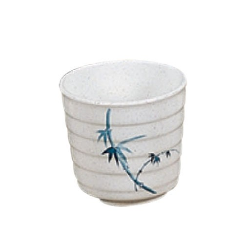 Thunder Group 9302BB Blue Bamboo Melamine Tea Cup 11 oz.