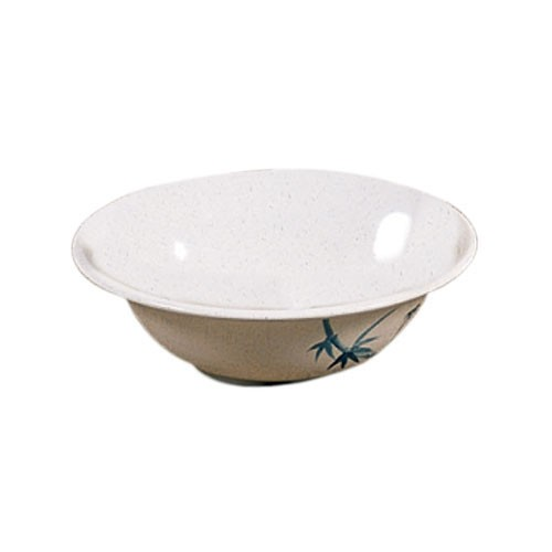 Thunder Group 5106BB Blue Bamboo Melamine Deep Bowl 15 oz.